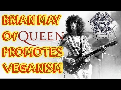 Brian May of Queen Promotes Vegan Message in TV Ad!