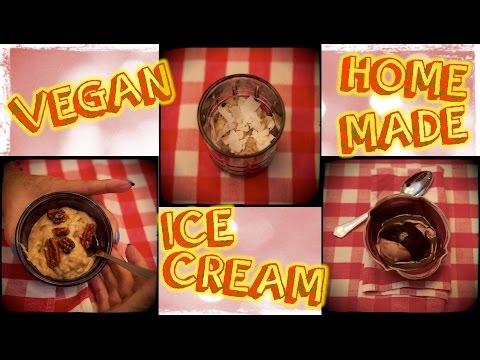 3 HomeMade Vegan Ice Cream Recipes for Omnivores!!