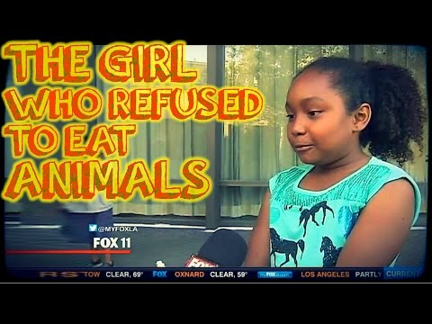 3 Year Old Refuses to Eat Animals & Changes Her Family Forever