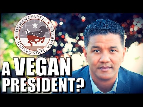 America's VEGAN Presidential Candidate | Clifton Roberts