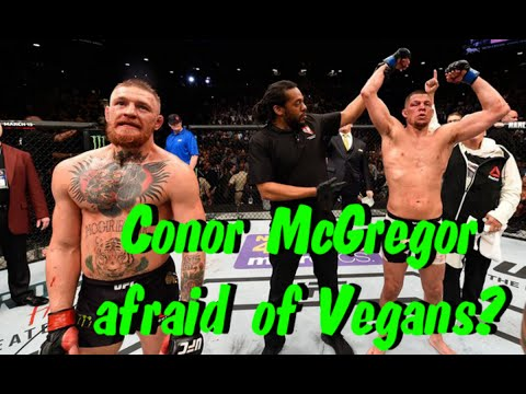 Conor McGregor is afraid of Vegans? | UFC Fighter