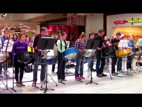 Haven High School Steel Drum Band - Towne West Mall 2015