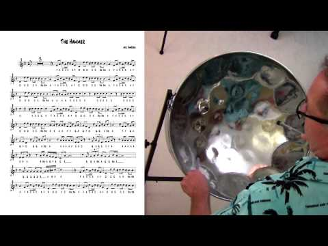 """Tropical Shores Steel Drum Lessons: """"The Hammer"""""""