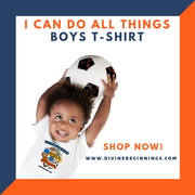 Boys 'I Can Do All Things' T-shirt