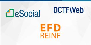 ESOCIAL - EFD-REINF - DCTF-Web - Perguntas e Respostas