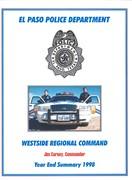 1998 WSRCC Annual Report Cover