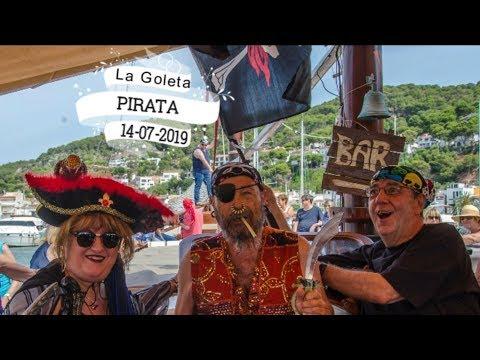 Islas Medas - goleta pirata 2019 - L'Estartit