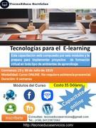 Tecnologías para el Elearning