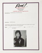 Paul McCartney 8x10 B&W Photo  $1100-2