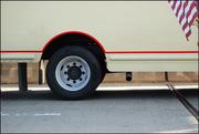 truck on the George Washington Bridge  2