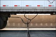 truck on the George Washingon Bridge 1