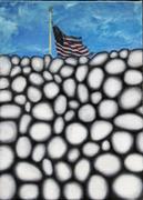 wall and flag study