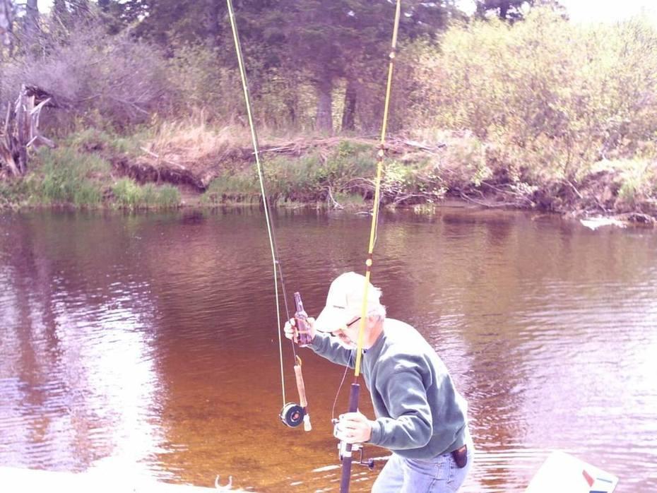 Dana fishing