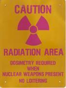 radiation when nukes present