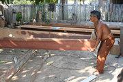 Oziel Dias Garcia, Construtor de canoa