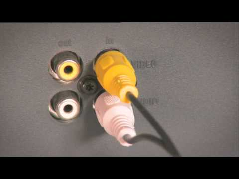 Setting up Freeview|HD: using a UHF aerial, composite cables & older CRT TV