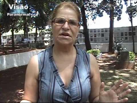 Espiritos do Cemiterio São João Programa Visão Paranormal Abril 2011