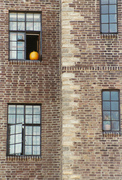 6.  Window with Pumpkin