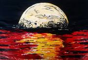 full moon wish 130x95cm