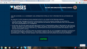 Example of a US Military Open Sim Virtual World Access Agreement