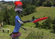 Little Gray Throwing Sidearm