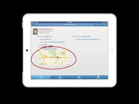 PeopleSoft Mobile Company Directory
