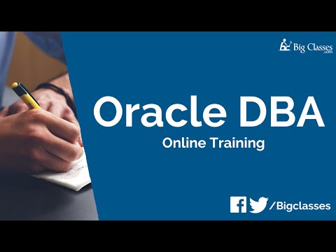 Oracle DBA 11g Training Video | Oracle DBA Overview