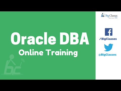 Oracle DBA Online Training | Oracle DBA 11g Training