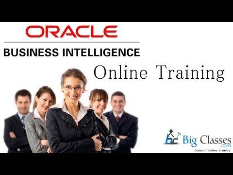 Oracle Business Intelligence Online Training