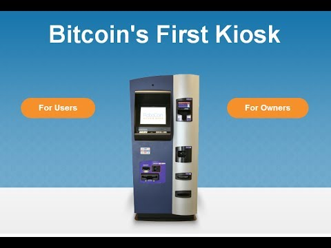 First Bitcoin ATM | Going Mainstream