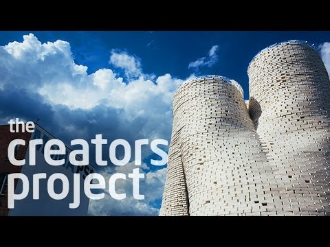MoMA PS1's Mushroom Tower | Hy-Fi by The Living