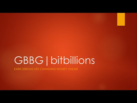 Part 1: How to Earn Over $100,000 with GBBG|bitbillions