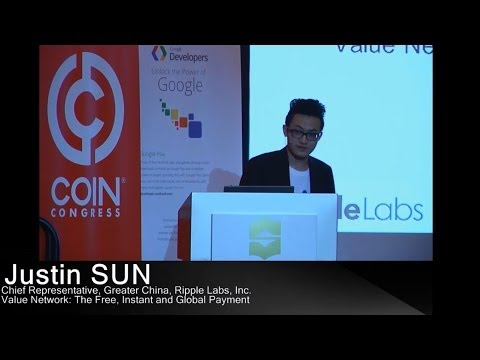 Value Network: The Free, Instant and Global Payment | Justin SUN