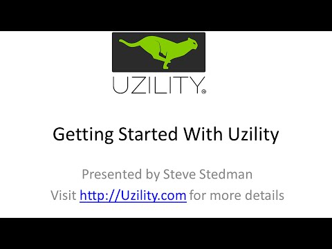 Getting Started With Uzility