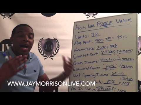 """How to create $768,000 in value in an Apartment Building by Jay """"Mr. Real Estate"""" Morrison"""