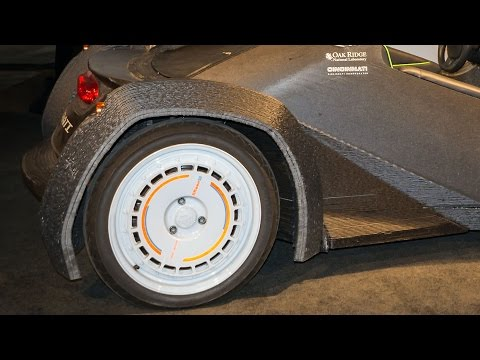 This Drivable Car Was 3-D Printed in 44 Hours