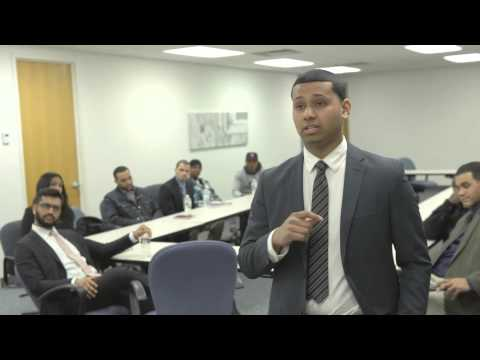 18 year old Emanuel Martinez from the Bronx registers his LLC after 3 months in JMA