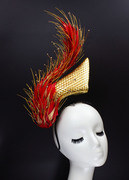 Flaming - Millinery by Amy Fowler