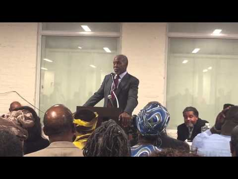 Actor Danny Glover speaks on Reparations at Global Summit