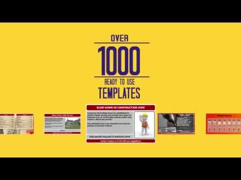 Digital Signage with 1,000+ Templates for Menu Boards and Marketing