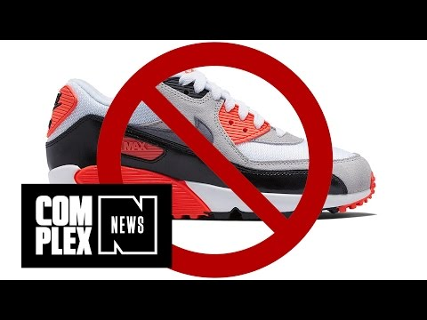 """Bar Bans Air Max Sneakers """"Because Drug Dealers Wear Them"""""""