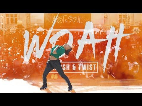OCD: Moosh & Twist - Woah | YAK to the BAY at ART+SOUL 2015 #DanceLikeWoah
