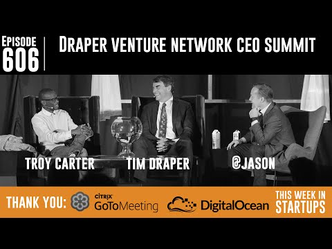 Tim Draper & Troy Carter: what's broken, predictions, transparency, paranoia, & Theranos rising