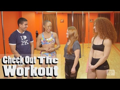 """Pole Dancing and Seductive, Fun Fitness in Brooklyn   Check Out The """"Exotic"""" Workout"""