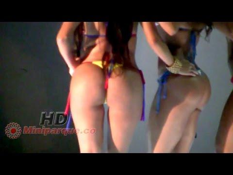 Sonido sobre ruedas 19 dia 2 chicas car audio Armenia Quindio Colombia bikini contest woman
