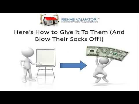 "How to Get Private Money Lenders, Hard Money Lenders and Banks to Say ""YES!!"""