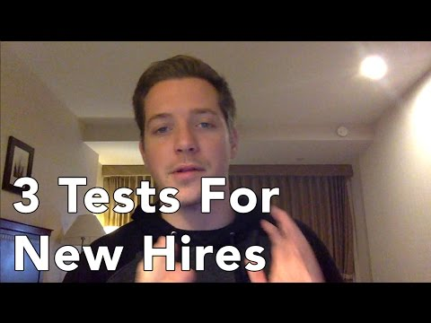 3 Ways to Test your Sales Hires