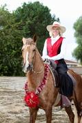 Kym Adams Mediator in the saddle