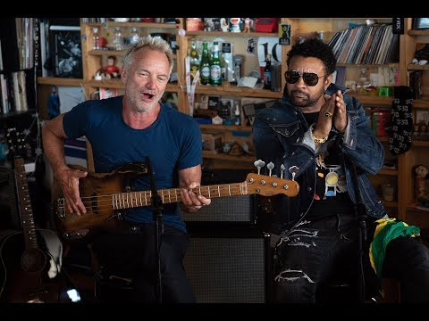 Artists of Interest:  Sting And Shaggy: NPR Music Tiny Desk Concert