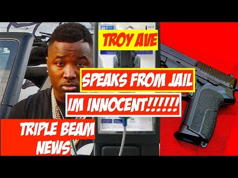 Troy Ave Tells His SIde of Irving Plaza Shooting from Jail | Im Innocent!